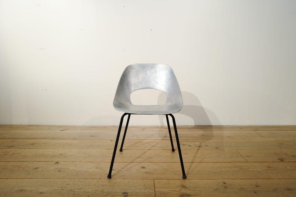 pierre guariche tulip chair aluminum 2 harrys antique market